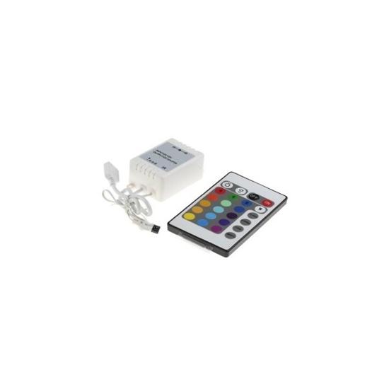 Imagen de Controlador RGB SMD5050 + Mando 16 Botones