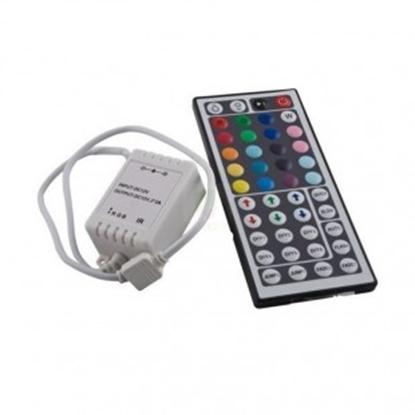 Imagen de Controlador RGB SMD5050 + Mando 44 Botones