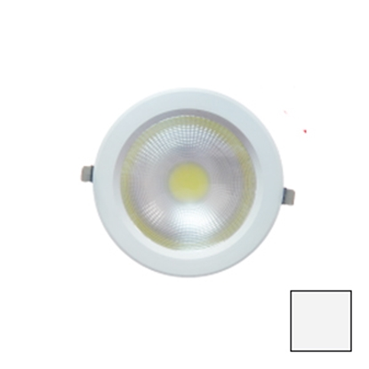 Imagen de Downlight LED COB Redondo Blanco 30W Blanco Natural