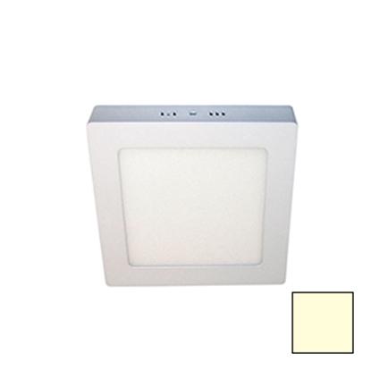 Imagen de Downlight LED Superficie Cuadrado Blanco 18W Cálido