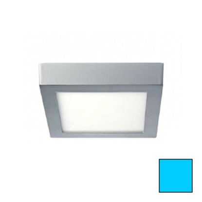Imagen de Downlight LED Superficie Cuadrado Plata 18W Frío