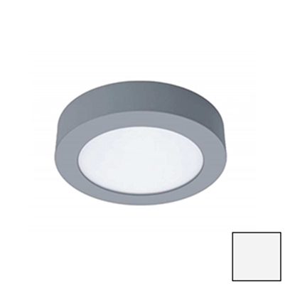 Imagen de Downlight LED Superficie Redondo Plata 18W Natural