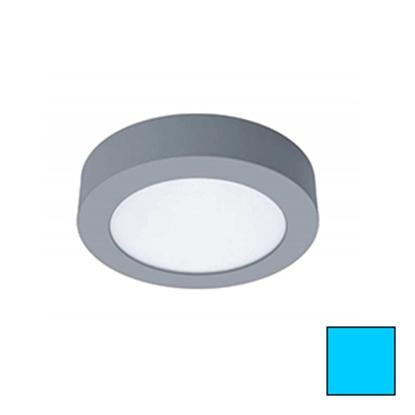 Imagen de Downlight LED Superficie Redondo Plata 18W Frío