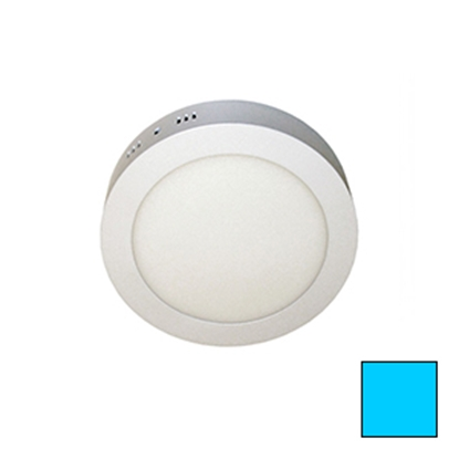 Imagen de Downlight LED Superficie Redondo Blanco 18W Frío