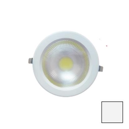 Imagen de Downlight LED COB Redondo Blanco 40W Blanco Natural