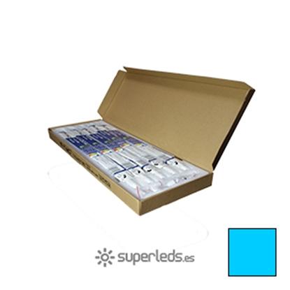 Imagen de Caja 25 Tubos LED T8 60cm 10W Blanco Frío