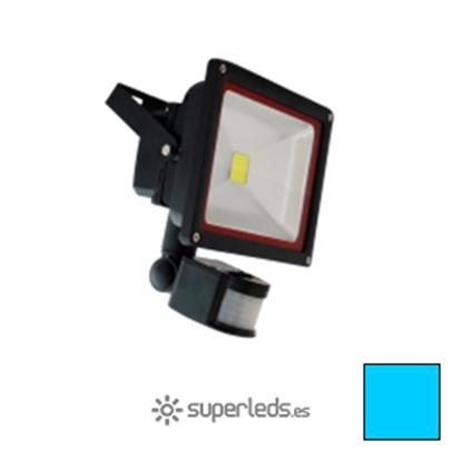 Imagen de Foco LED 30W Sensor Movimiento Blanco Frío
