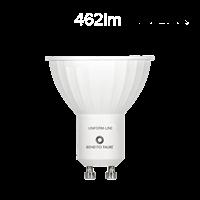 Image de Bombilla LED GU10 6W 120º  - 3000ºK