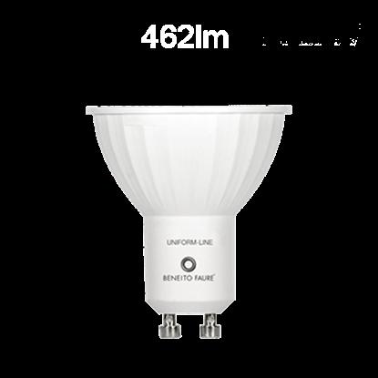 Imagen de Bombilla LED GU10 6W 120º  - 4000ºK