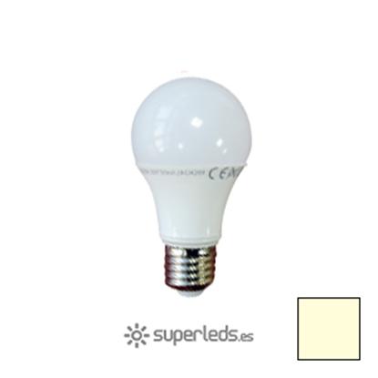 Imagen de Bombilla LED A60 E27 9W EPISTAR Blanco Cálido