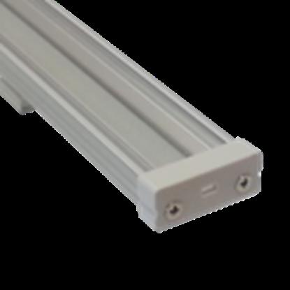 Imagen de Perfil Tira LED Ancho Transparente - 1 metro