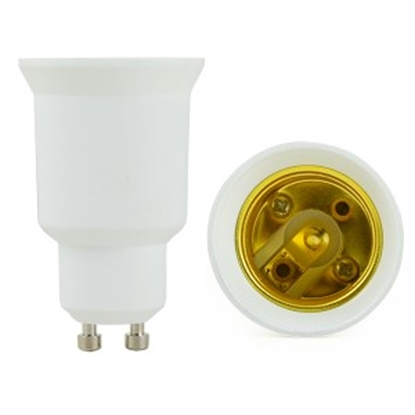 Imagen de Conversor Bombillas LED E27 a GU10