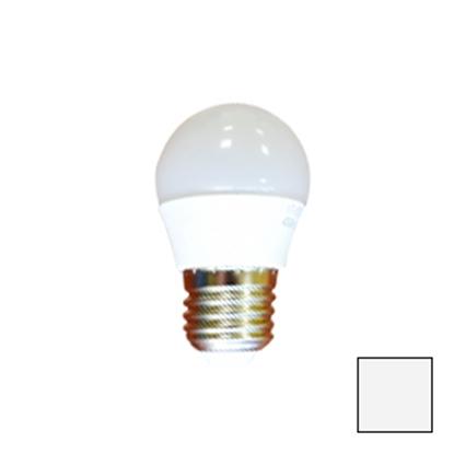 Imagen de Lote 10 Bombillas LED Esférica E27 6W Blanco Neutro
