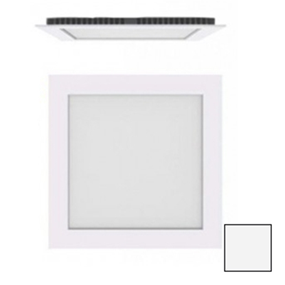 Imagen de Downlight LED Cuadrado Blanco 18W Blanco Natural