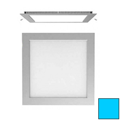 Imagen de Downlight LED Cuadrado Plata 18W Blanco Frío