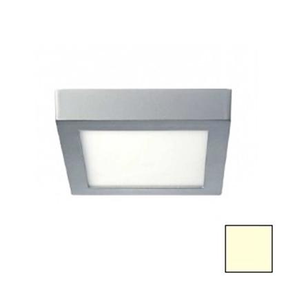 Imagen de Downlight LED Superficie Cuadrado Plata 18W Cálido