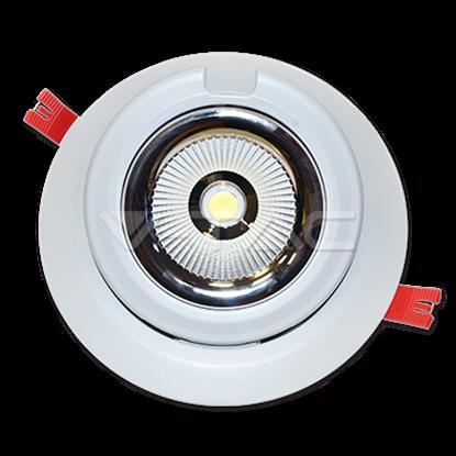 Imagen de Downlight LED Orientable Redondo 48W 5000K