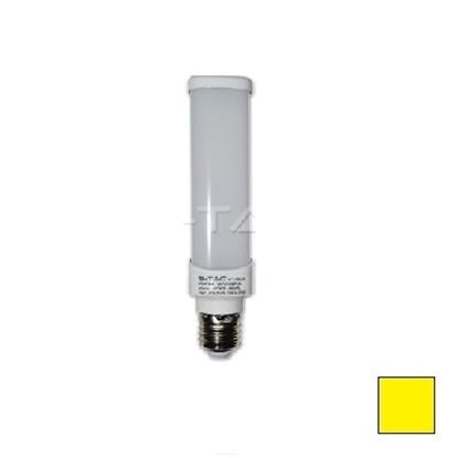 Imagen de Bombilla LED PL E27 6W EPISTAR Blanco Cálido