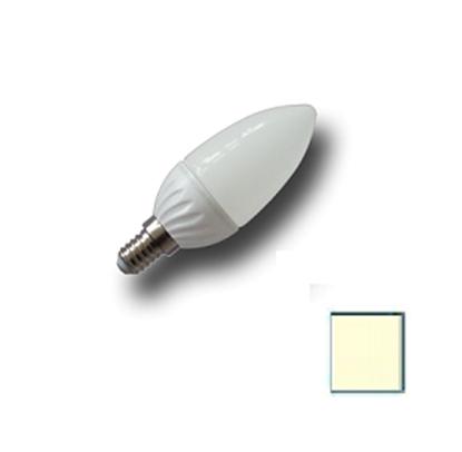 Imagen de Bombilla LED Vela E14 4W EPISTAR Blanco Cálido